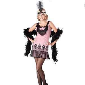 Juniors Flirty Flapper Costume